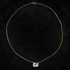EB Rose Cut Diamond Necklace