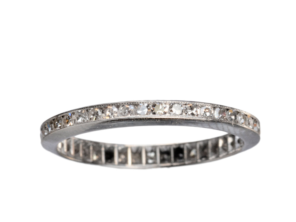 1930s Diamond Eternity Band