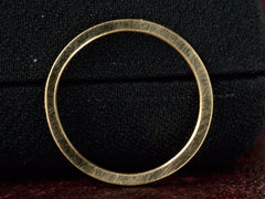 EB Square Edge 18K Wedding Band