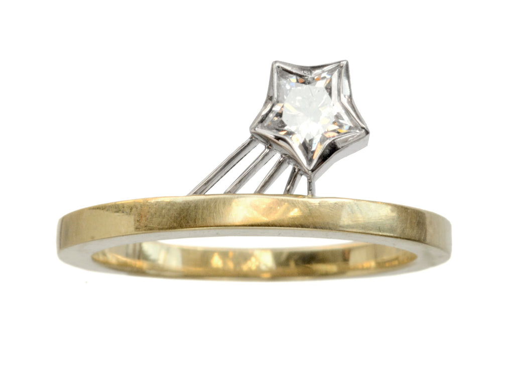 EB Shooting Star Diamond Ring