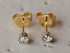 EB Old European Cut Diamond Studs
