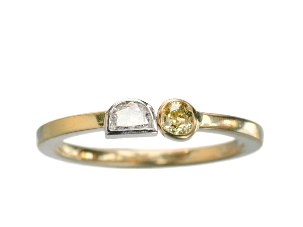EB Sun & Moon Diamond Ring
