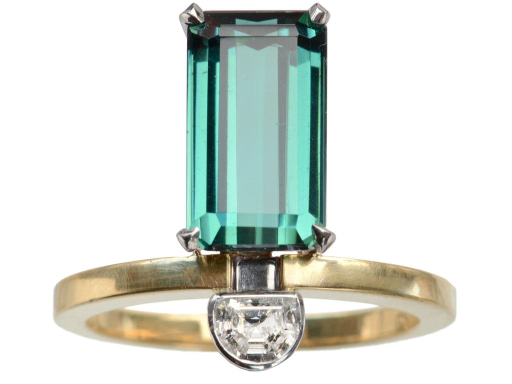 EB Blue Tourmaline Ring