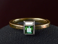 EB Tourmaline & Diamond Ring