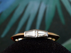 EB 0.43ctw Twin Tapered Diamond Ring