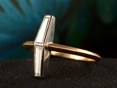 EB 0.54ctw Twin Tapered Baguette Ring