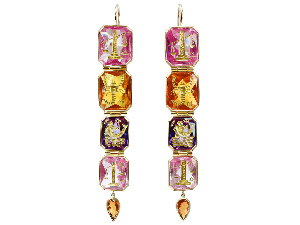 EB Modern Zodiac Earrings