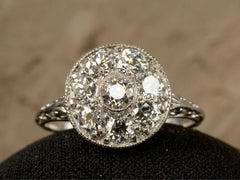 1910s Edwardian Cluster Ring