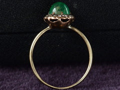 1890s Emerald & Diamond Ring