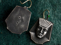 Emerald Pharaoh Earrings