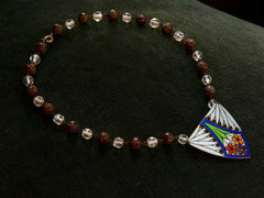 1910s Arts & Crafts Enamel Necklace