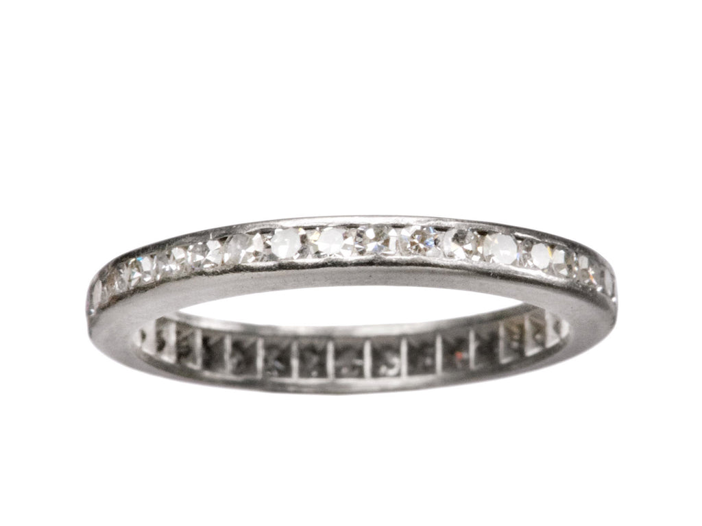 1930-40s Diamond Eternity Band