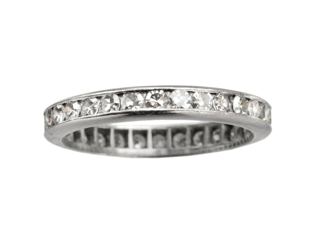 1930s 3.0mm Diamond Eternity Band