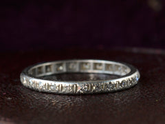 1920s Diamond Eternity Band