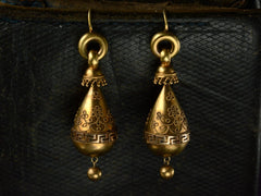 c1880 Etruscan Revival Earrings