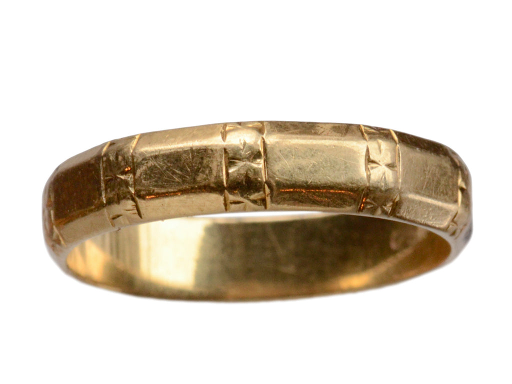 1930-40s Faceted Men's Band