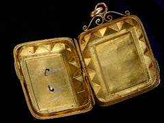 1880s Faceted Victorian Locket
