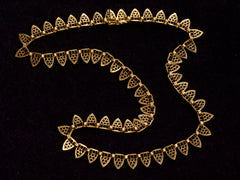 1900s French Filigree Necklace