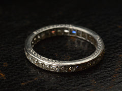 1920s French Cut Eternity Band