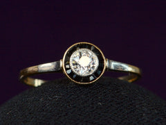 1910s French Diamond Ring