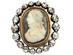 c1790 Georgian Diamond Cameo