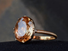c1800 Georgian Topaz Ring