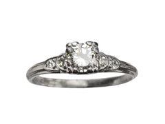 1930s Granat Bros. 0.27ct Ring
