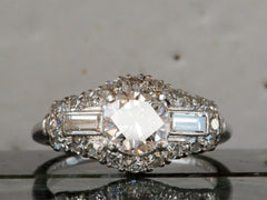 1940s Granat Bros Engagement Set