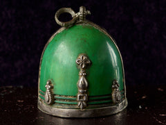 Early 1900s Green Pendant
