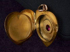 1900s Heart Shaped Locket