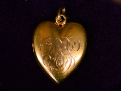 1900s Edwardian Heart Locket