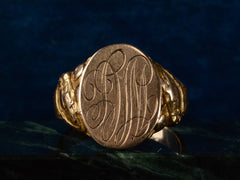 1900s Horse Head Signet Ring