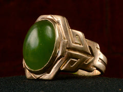 1909 Larter & Sons Jade Ring