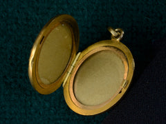 c1900 Art Nouveau Birds Locket