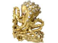 1960s Lalaounis Octopus Ring