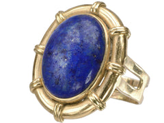 1960s Large Lapis Ring