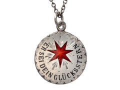 1890s Lucky Star Necklace