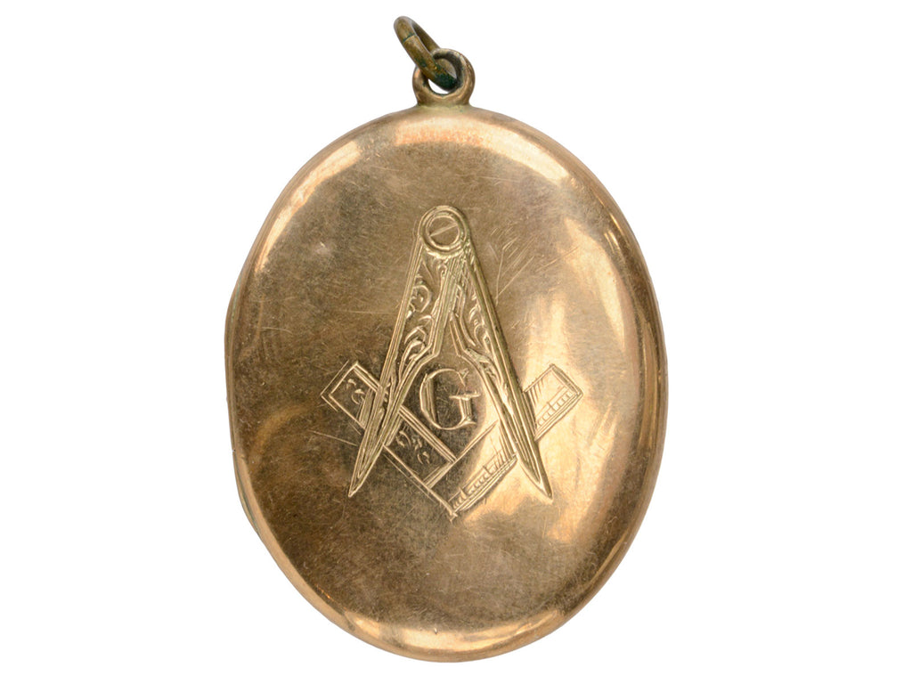 1900s Freemason & IOOF Locket