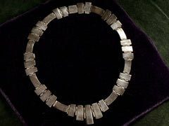 1950s Mexican Silver Necklace