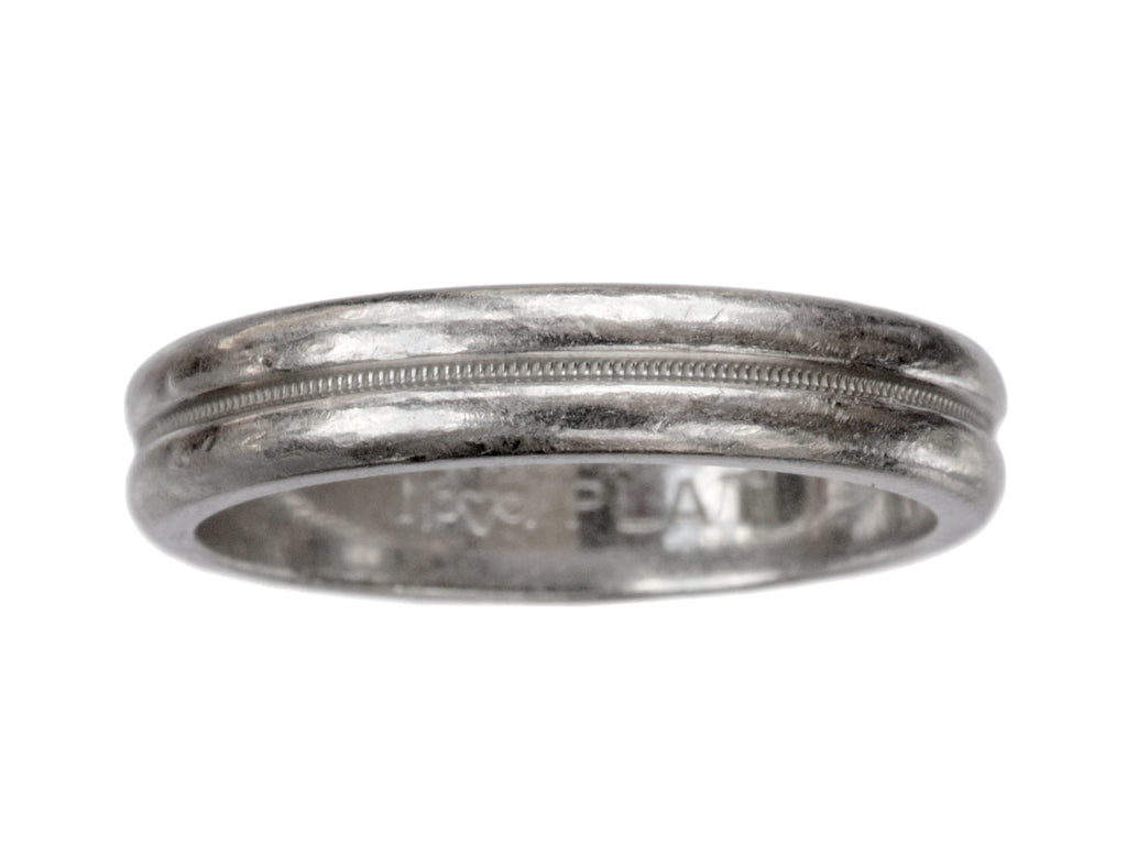 Mid 1900s Double Platinum Band