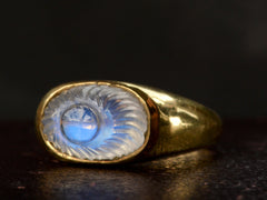 1970-80s Moonstone Eye Ring