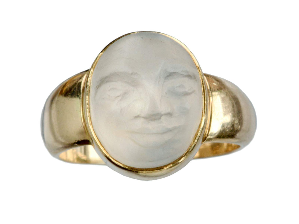 1950s Man in the Moon Ring