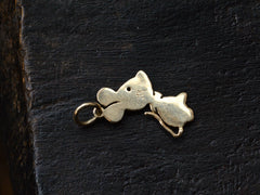 1950s Mouse in a Bowtie Charm