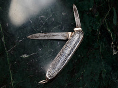 1890s French Niello Knife