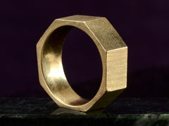 1960s Wide Octagonal Band
