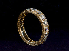 1910s Edwardian Diamond Eternity Band