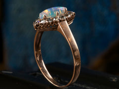 1890s Opal and Diamond Ring