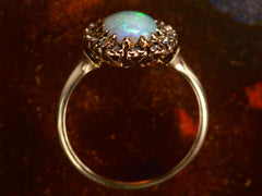 1890s Opal & Diamond Ring
