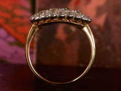 1900s Edwardian Oval Diamond Cluster Ring