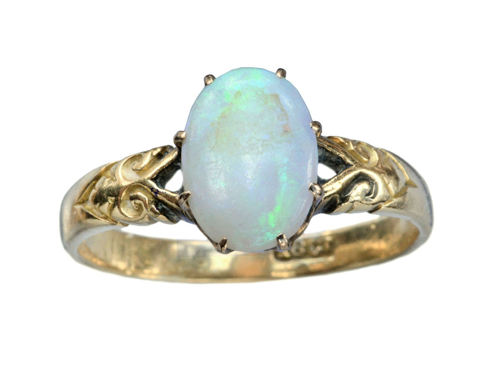 1900s English Opal Ring